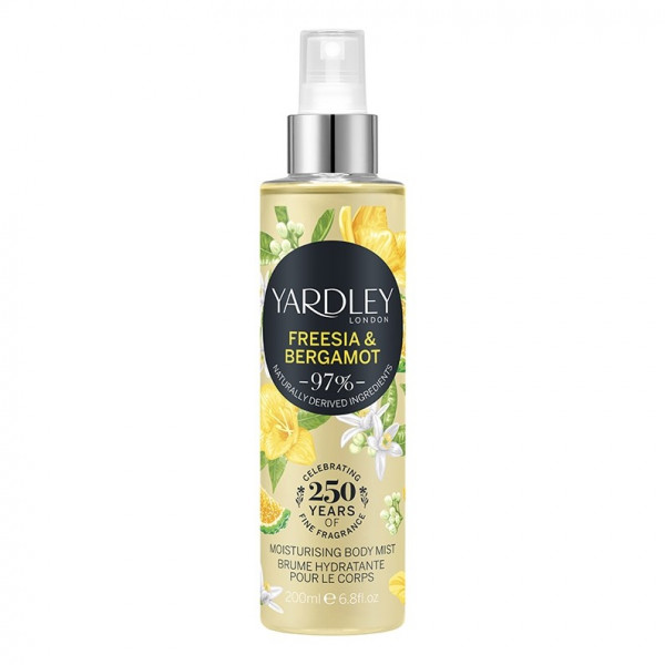 Yardley London Körperspray Freesia & Bergamot 200ml