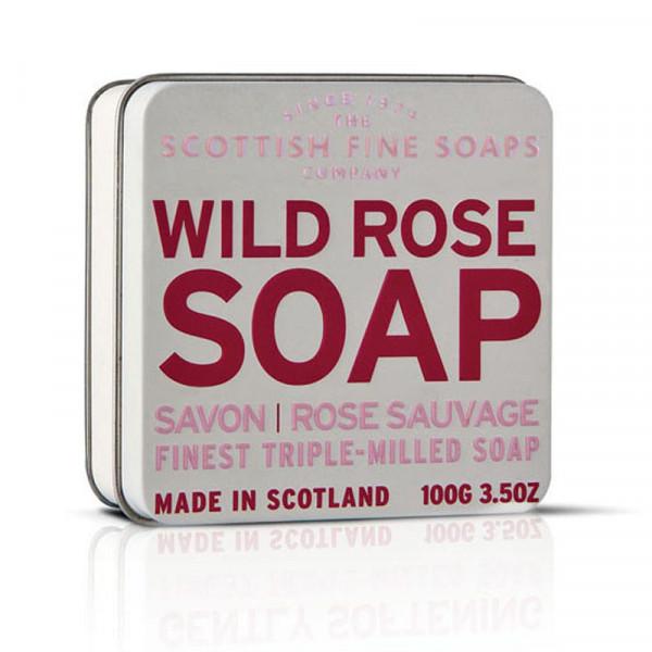 Scottish Fine Soaps Seife Wild Rose in Dose 100g