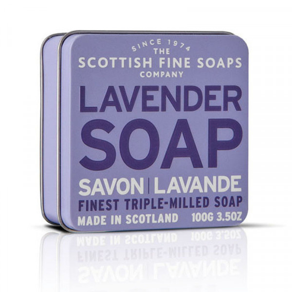 Scottish Fine Soaps Seife Lavender in Dose 100g