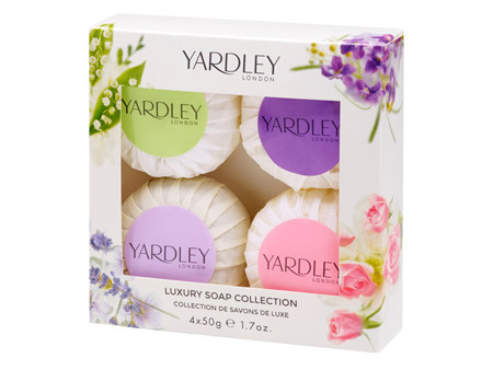 Yardley London Seifenkollektion 4 x 50g