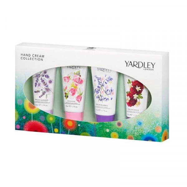 Yardley London Handcremes Kollektion 4 x 50ml