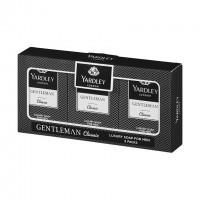 Yardley London Geschenkset Gentleman Luxusseife Classic 3 x 90g