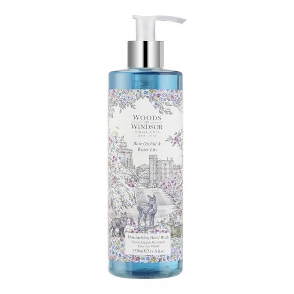 Woods of Windsor Flüssigseife Blaue Orchidee & Seerose 350ml