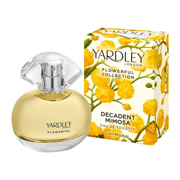 Yardley London Eau de Toilette Decadent Mimosa 50ml