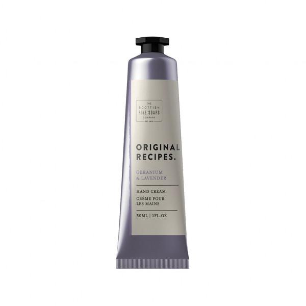 Scottish Fine Soaps Handcreme Geranium & Lavender 30ml