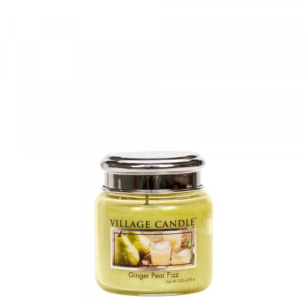Village Candle Duftkerze Ginger Pear Fizz im Glas 110g