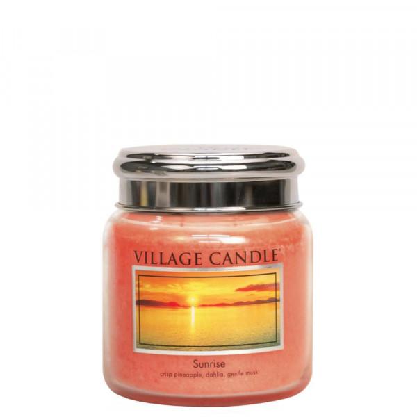 Village Candle Duftkerze Sunrise im Glas 411g