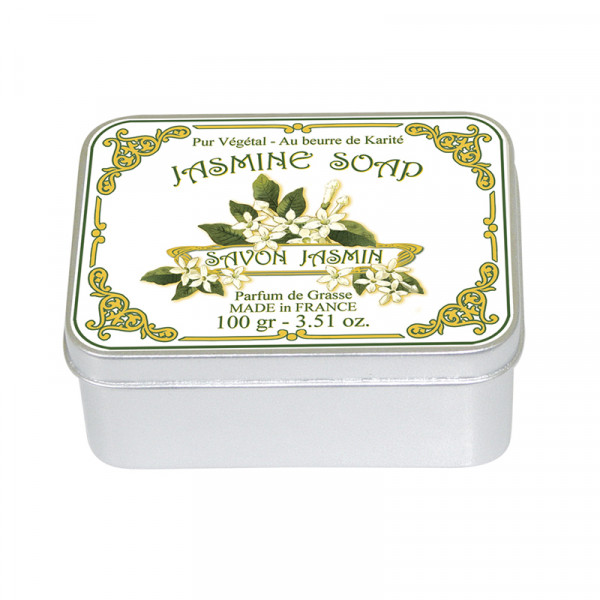 Le Blanc Naturseife Jasmin in Metallbox 100g