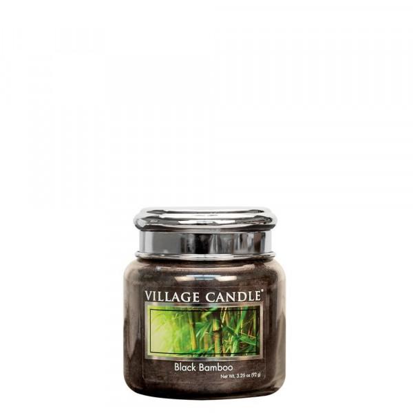 Village Candle Duftkerze Black Bamboo im Glas 110g
