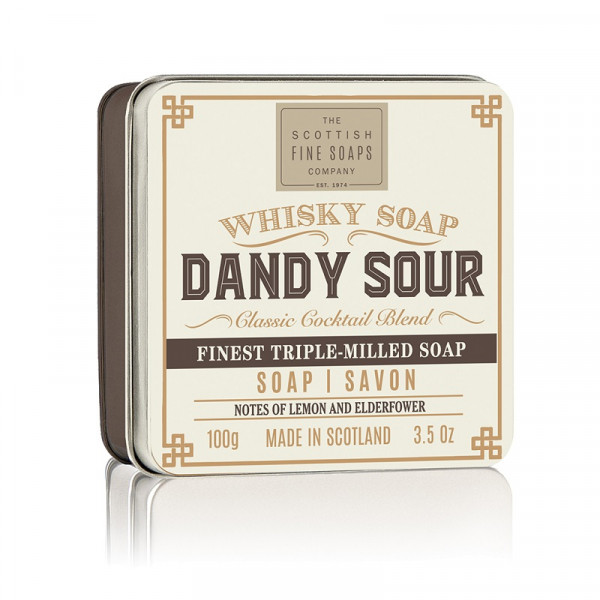 Scottish Fine Soaps Seife Whisky Soap Dandy Sour in Dose 100g