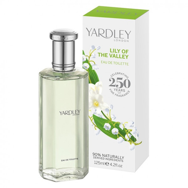 Yardley London Eau de Toilette Lily of the Valley 125ml - VERPACKUNG BESCHÄDIGT