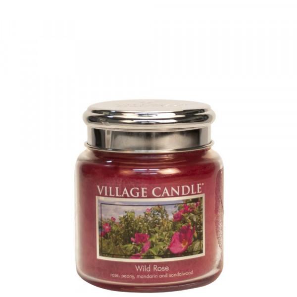 Village Candle Duftkerze Wild Rose im Glas 411g