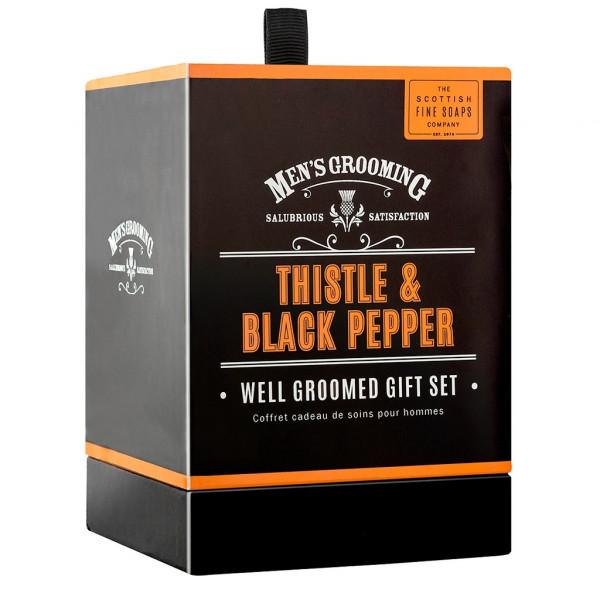 Scottish Fine Soaps Geschenkset Men's Grooming 3-teilig
