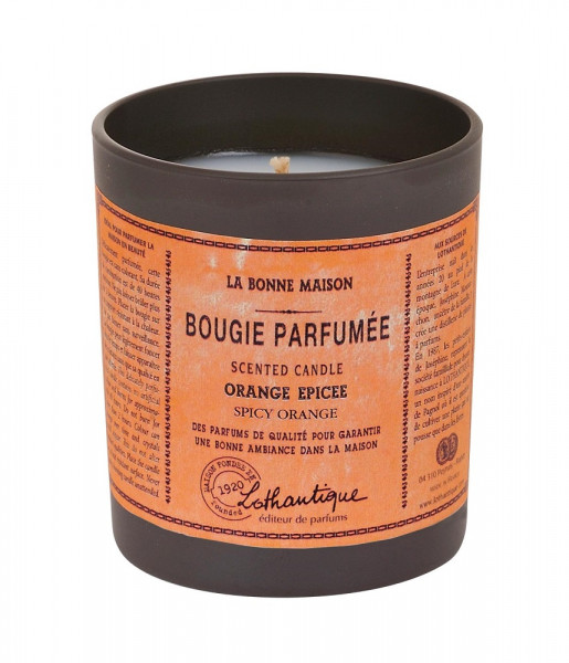 Lothantique Duftkerze Spicy Orange 160g