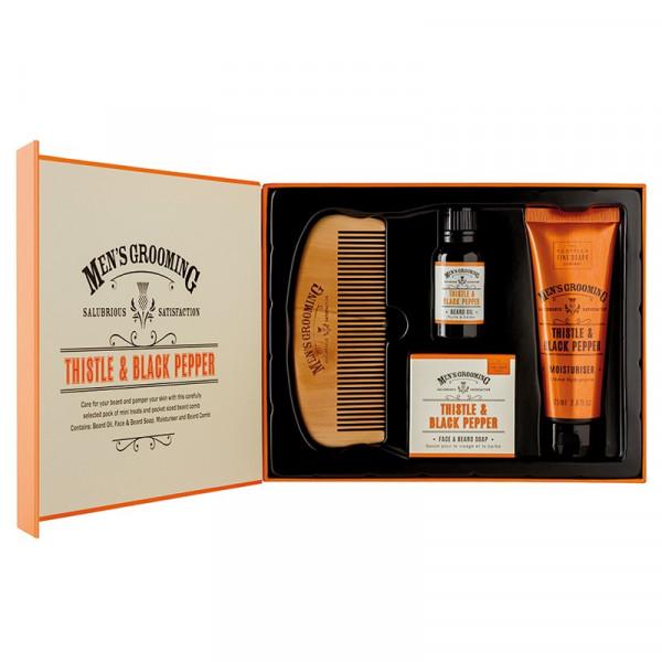 Scottish Fine Soaps Gesichts- & Bartpflegeset Men's Grooming 4-teilig