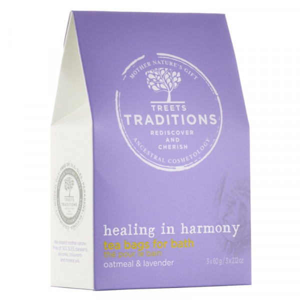 Treets Badetee Healing in Harmony 3 x 60g