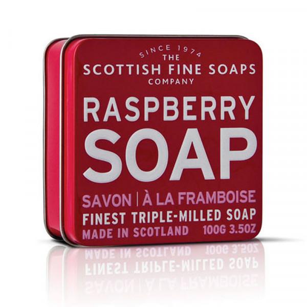Scottish Fine Soaps Seife Raspberry in Dose 100g