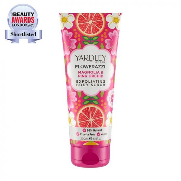 Yardley London Körperpeeling Magnolia & Pink Orchid 200ml