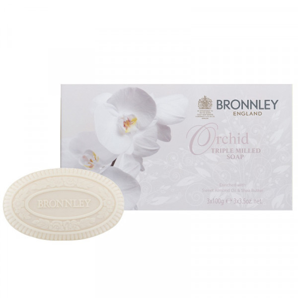 Bronnley Gästeseife Orchid 3 x 100g