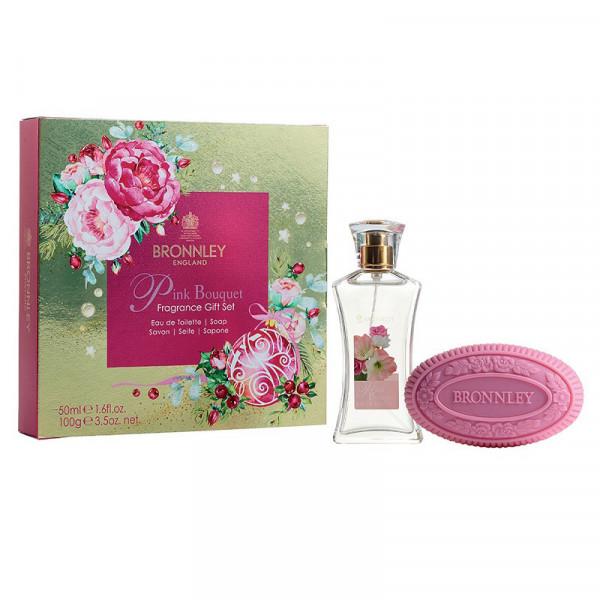 Bronnley Geschenkset Pink Bouquet