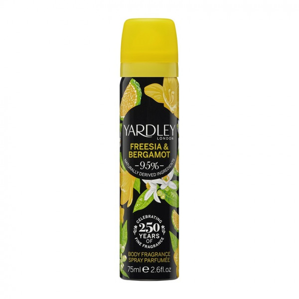 Yardley London Deospray Freesia & Bergamot 75ml