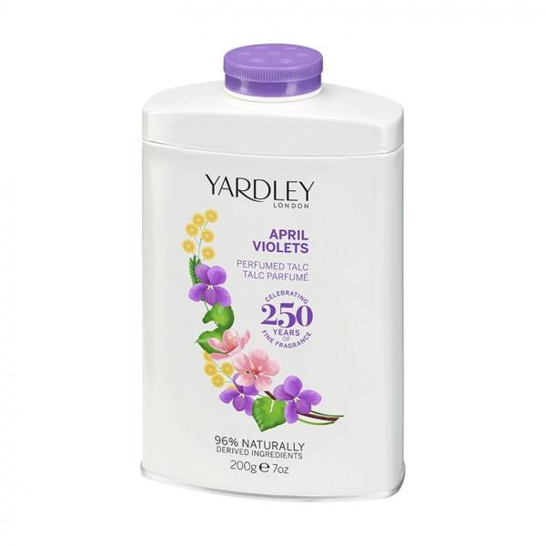 Yardley London Talkumpuder April Violets 200g