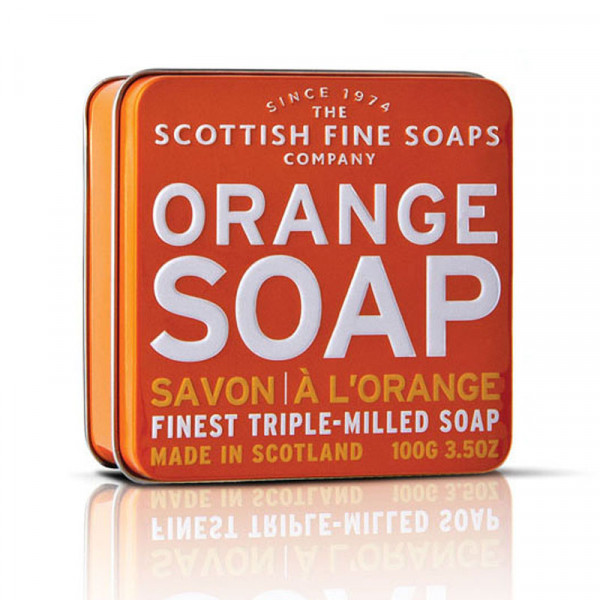 Scottish Fine Soaps Seife Orange in Dose 100g