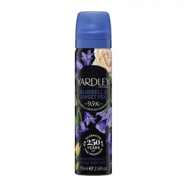 Yardley London Deospray Bluebell & Sweet Pea 75ml