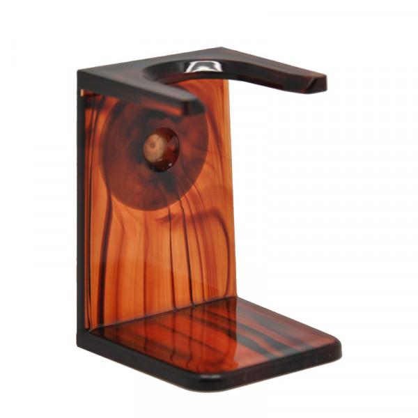 P&P Accessoires Rasierpinselhalter in havanna-Optik