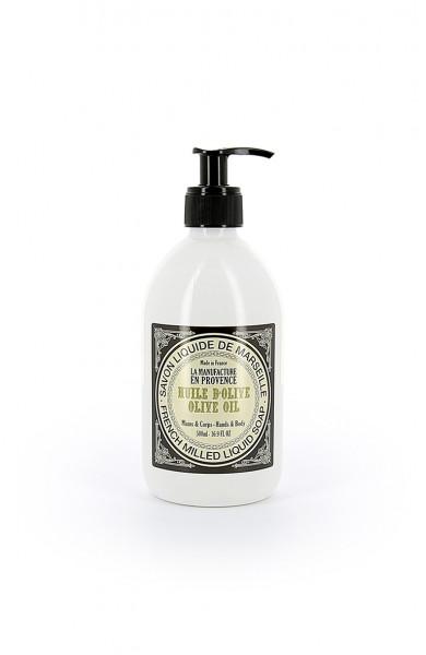 La Manufacture en Provence Flüssigseife Olivenöl 500ml