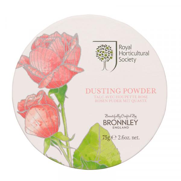 Bronnley Körperpuder Rose 75g