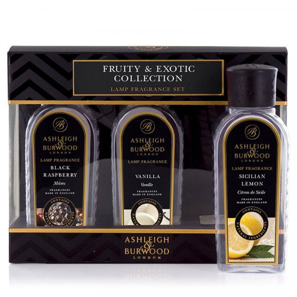Ashleigh & Burwood Raumdüfte Fruity & Exotic Collection 3 x 180ml