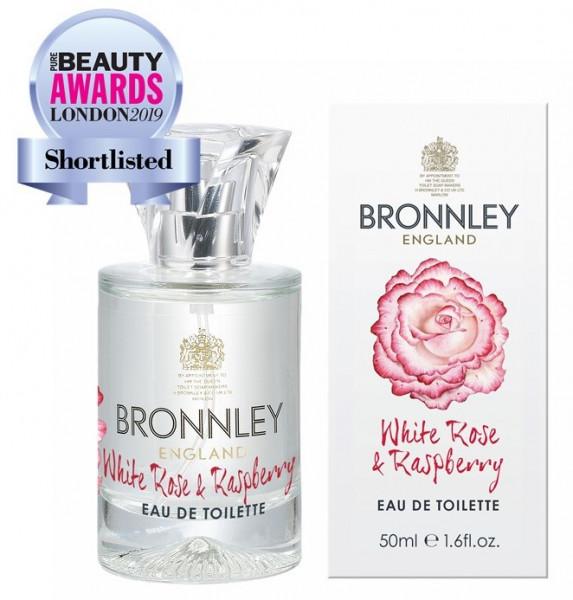 Bronnley Eau de Toilette White Rose & Raspberry 50ml