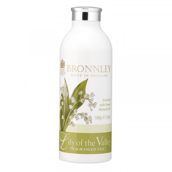 Bronnley Talkumpuder Lily of the Valley 100g