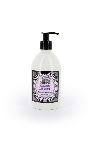 La Manufacture en Provence Flüssigseife Lavendel 500ml