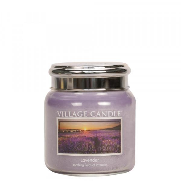 Village Candle Duftkerze Lavender im Glas 411g