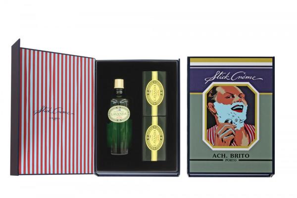 Ach.Brito Geschenkset Lavendel 3-teilig