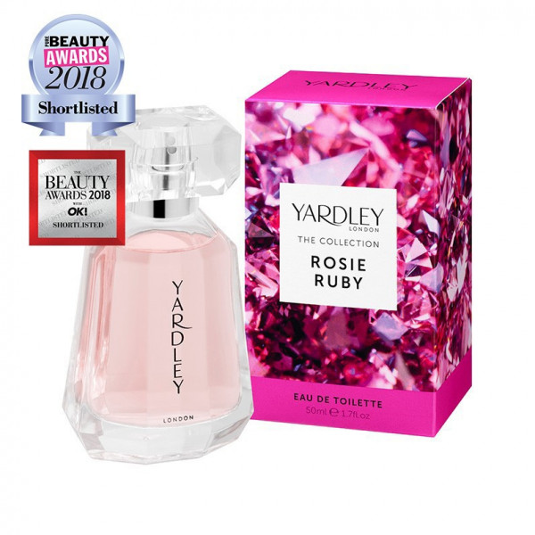 Yardley London Eau de Toilette Rosie Ruby 50ml