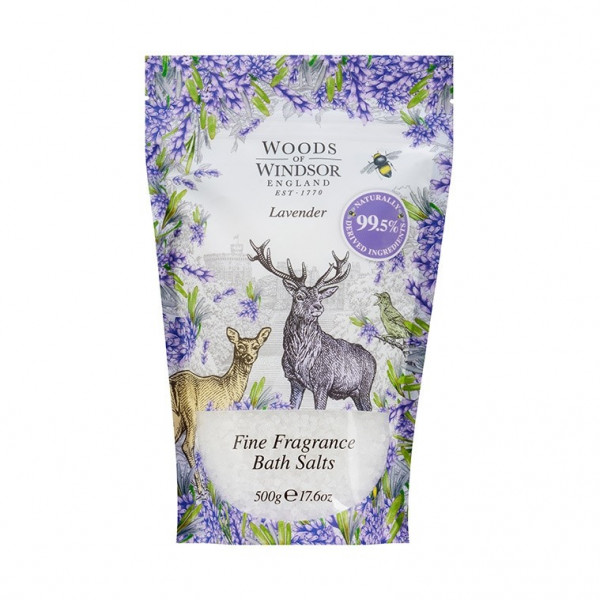 Woods of Windsor Badesalz Lavendel 500g