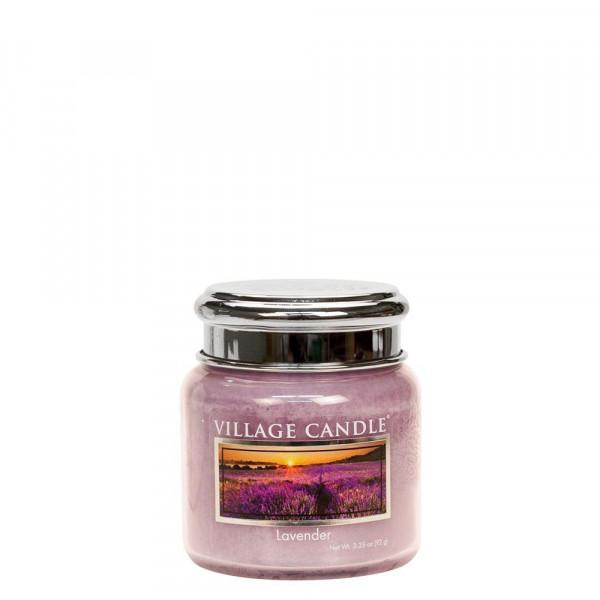 Village Candle Duftkerze Lavender im Glas 110g