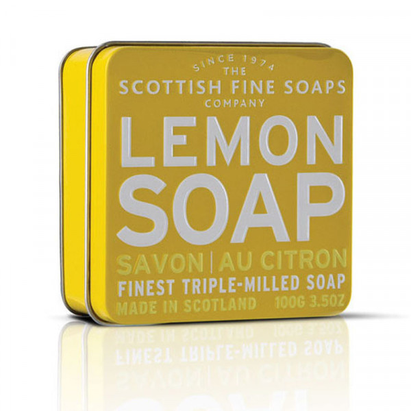 Scottish Fine Soaps Seife Lemon in Dose 100g