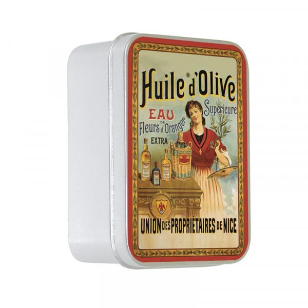 Le Blanc Naturseife Olivenöl in Metallbox 100g