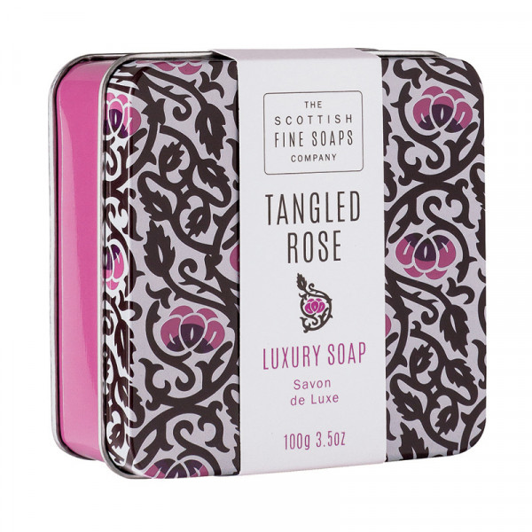 Scottish Fine Soaps Seife Tangled Rose in Dose 100g