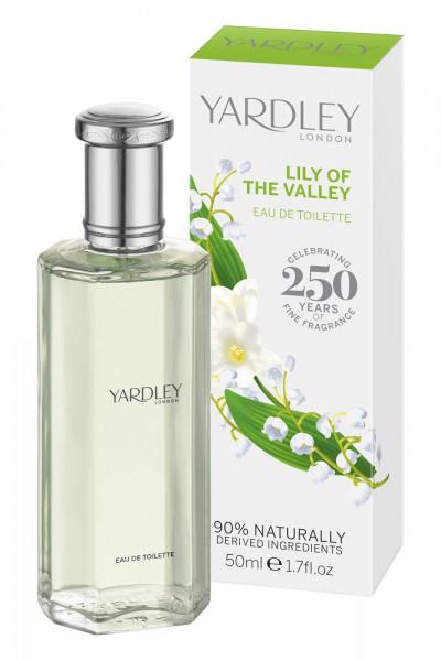 Yardley London Eau de Toilette Lily of the Valley 50ml