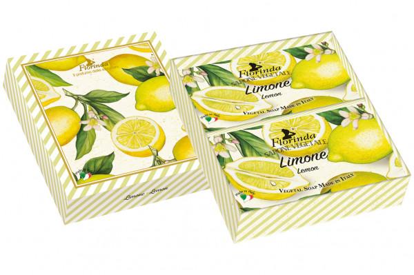 Florinda Geschenkset 2 x Seife Limone je 200g