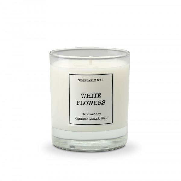 Cereria Mollá 1899 Duftkerze White Flowers im Glas