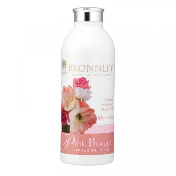 Bronnley Talkumpuder Pink Bouquet 100g