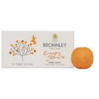 Bronnley Gästeseife Orange & Jasmine 3 x 100g